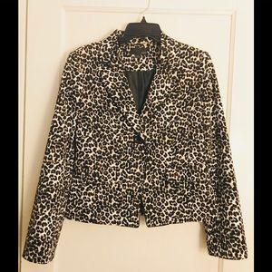Forever 21 Leopard print Blazer